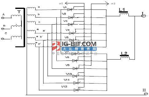 龚氏五芯柱双6相半波可控整流电路研究