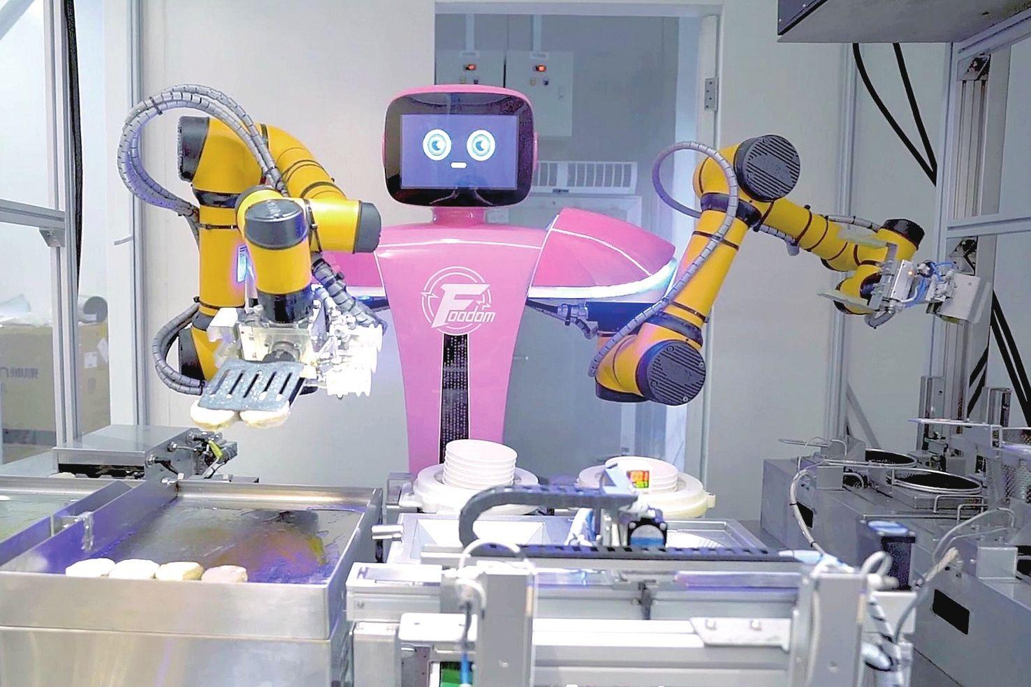 碧桂园机器人最新进展披露:预计明年小批量生产