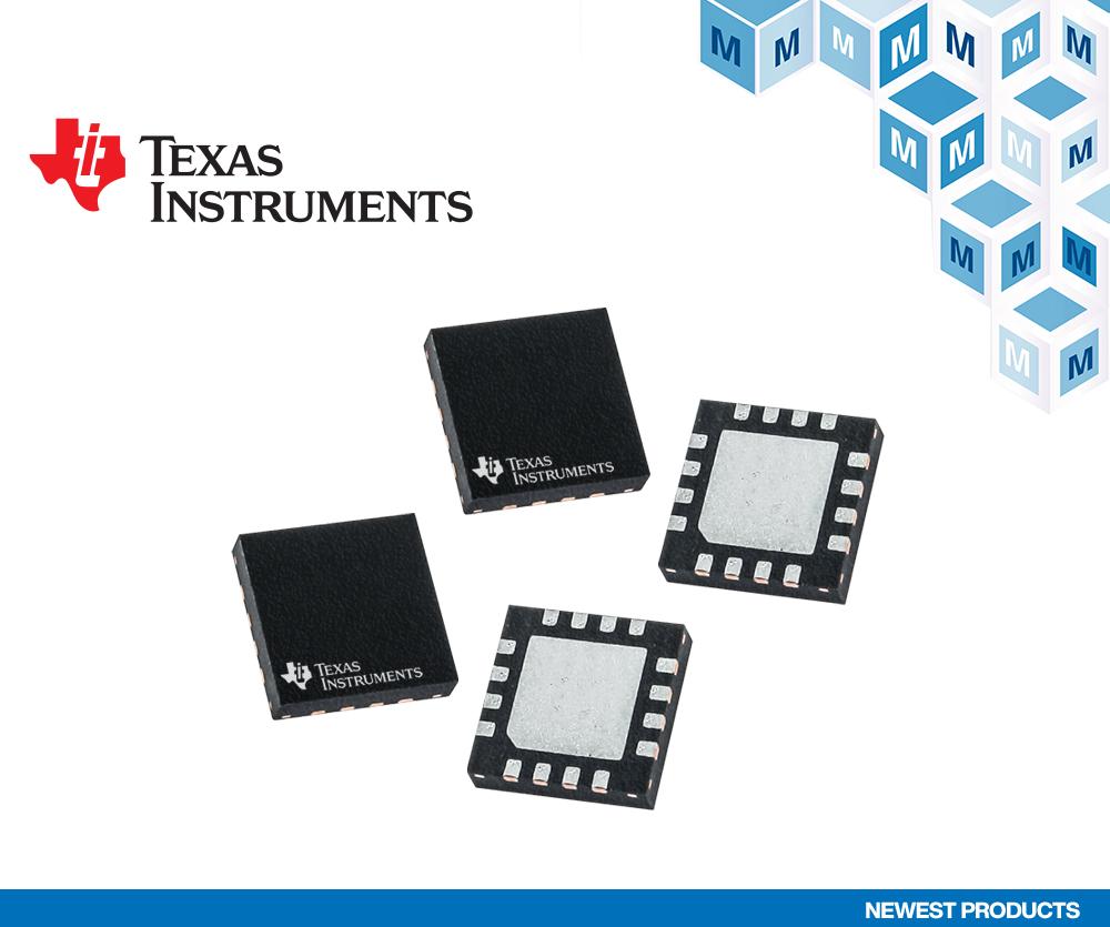 贸泽新品快讯:Texas Instruments简单易用的  12位SAR ADC — ADS7028和ADS7138