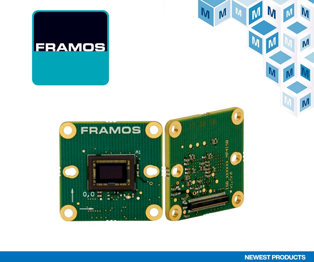 贸泽电子与嵌入式视觉知名供应商FRAMOS签订全球分销协议