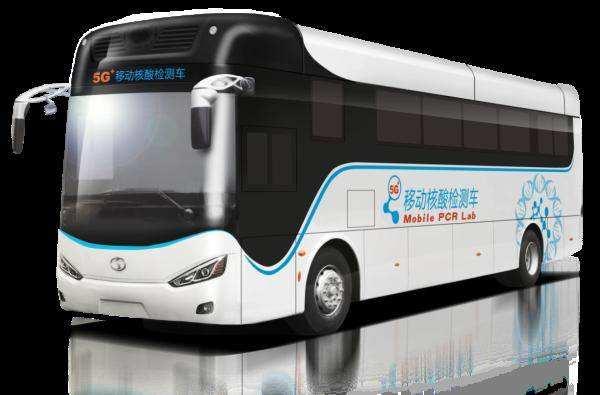 中国首辆5G技术智能移动核酸检测车研制成功,高效便捷助力疫情