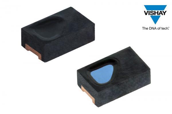 Vishay推出新款表面贴装汽车级硅PIN光电二极管
