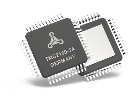 TRINAMIC发布全新高性能步进电机驱动器TMC2160