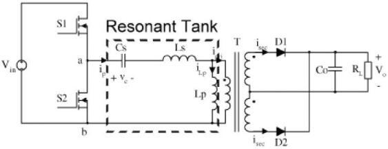 高频LLC谐振变换器中磁集成三维建模