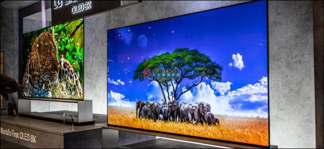 三星和LG在全球电视市场展开激烈竞争