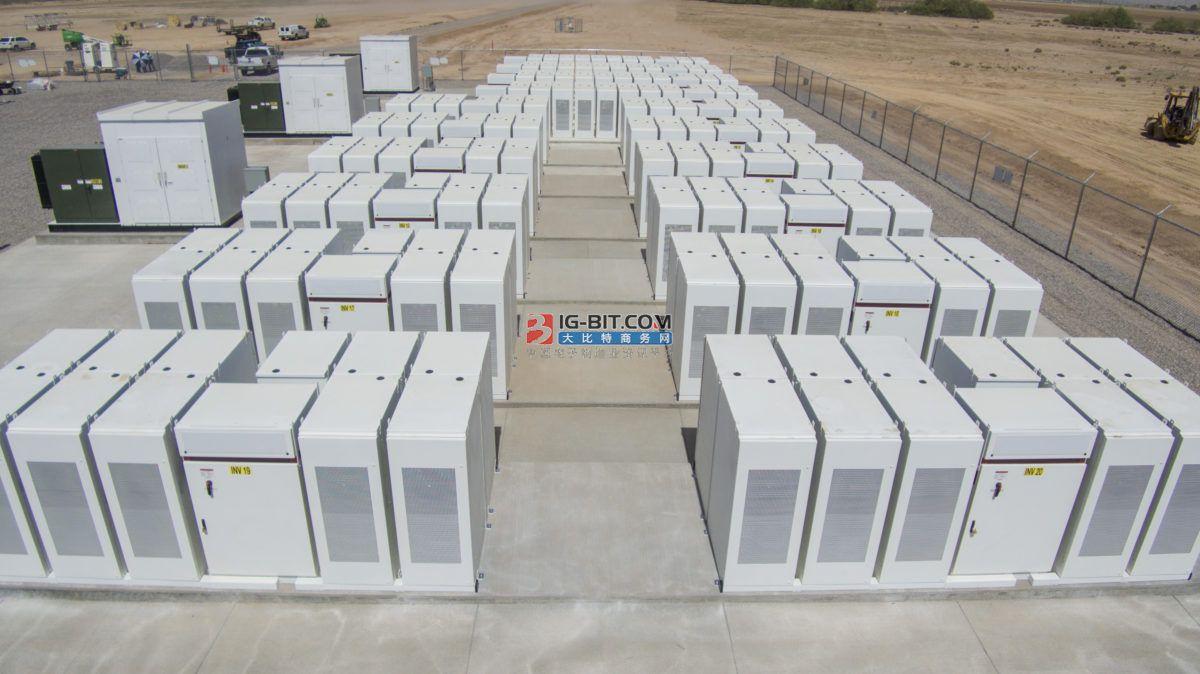 上汽通用五菱储能电站投入使用