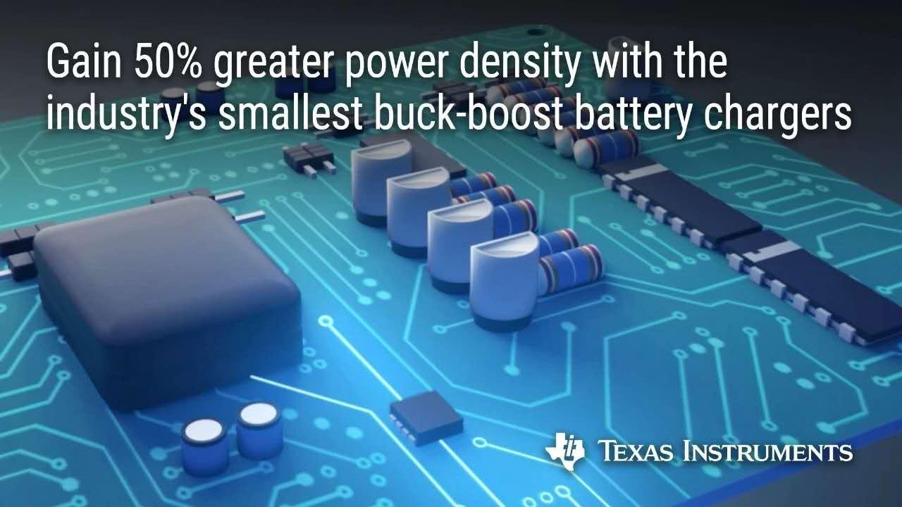 新型降压-升压电池充电器将功率密度提高了50%,充电速度提升了3倍