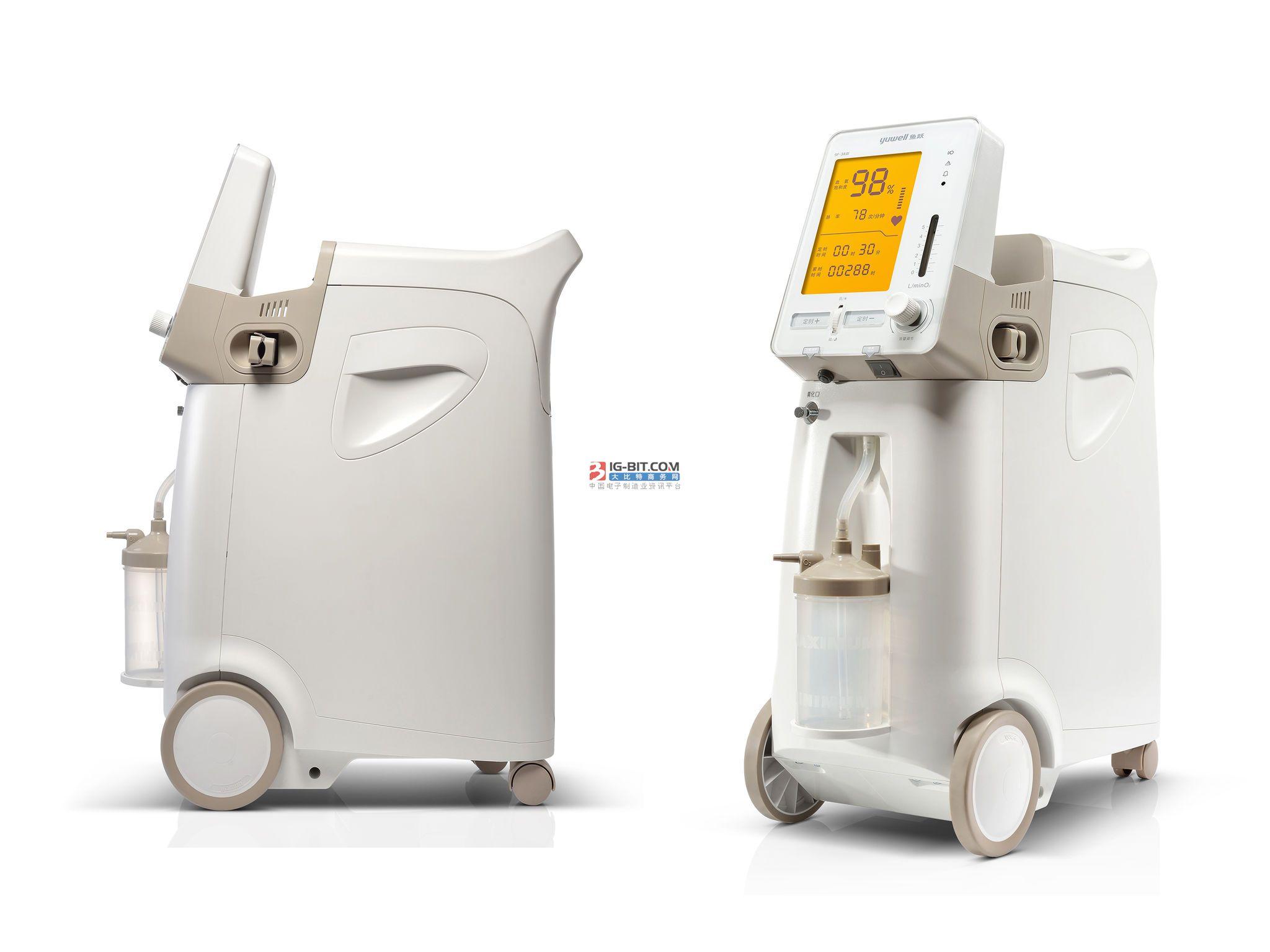 巨贸康万家发布新款制氧机,布局智能家用医疗设备大市场