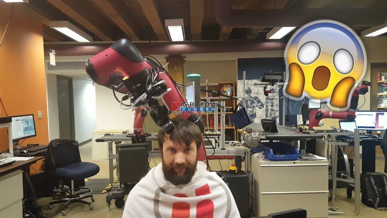 陈根:油管理发机器人走红,人在头在