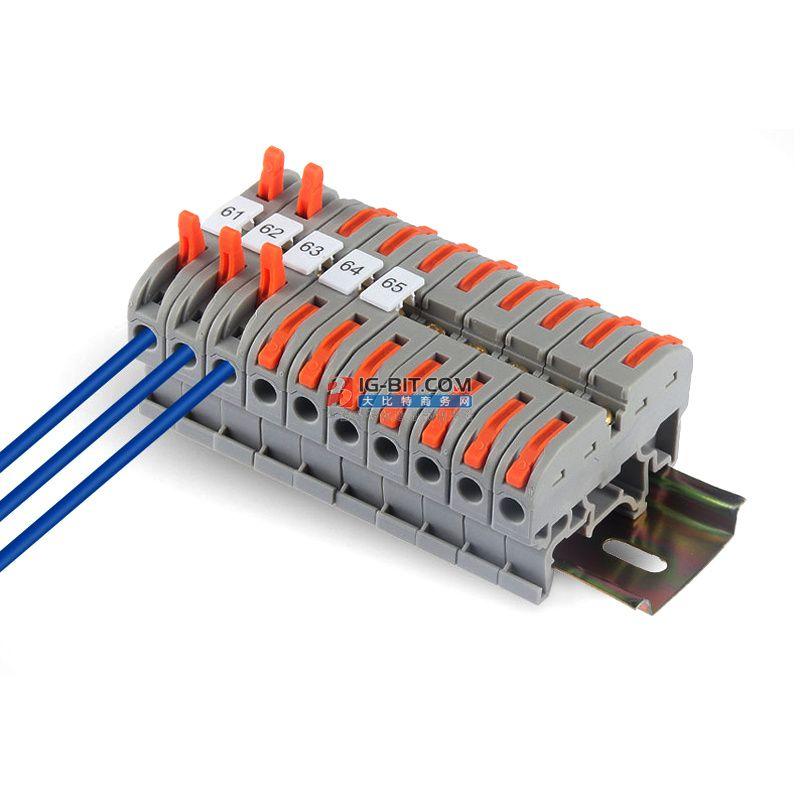 如何正确安装接线端子?