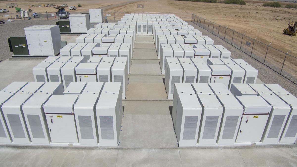 华中区域首个电源侧大型电化学储能调频电站正式开工