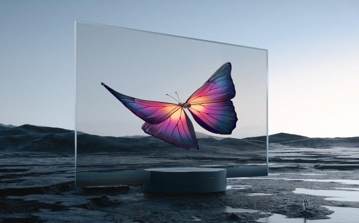 小米全球首款量产透明OLED电视发布,售价49999元