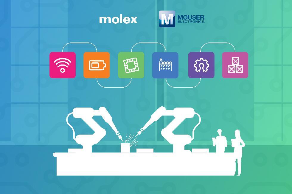 贸泽电子与Molex联手打造数字工业物联网智库