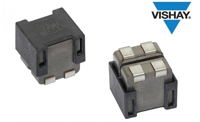 Vishay推出汽车级双电感器,降低电路板所需空间,减少D类放大器元件数量