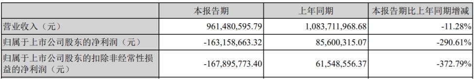 四维图新上半年净利润亏损1.63亿元,汽车电子芯片出货量大幅下降
