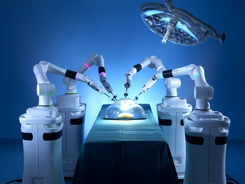 达芬奇称霸手术机器人领域 国产手术机器人需突破桎梏!
