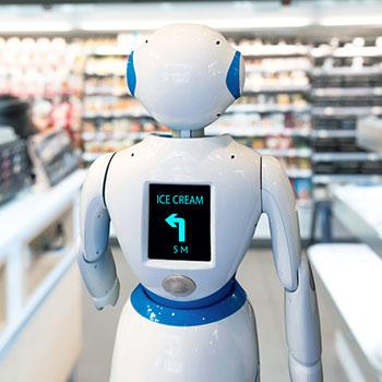 服务机器人勾勒未来生活全新图景