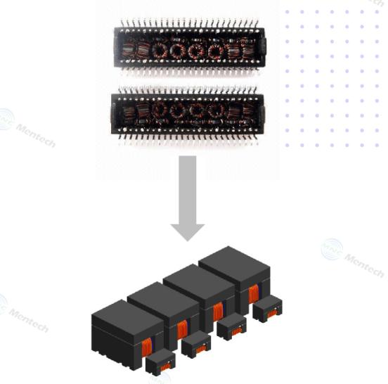 铭普光磁Chip LAN变压器-可替代并兼容传统变压器