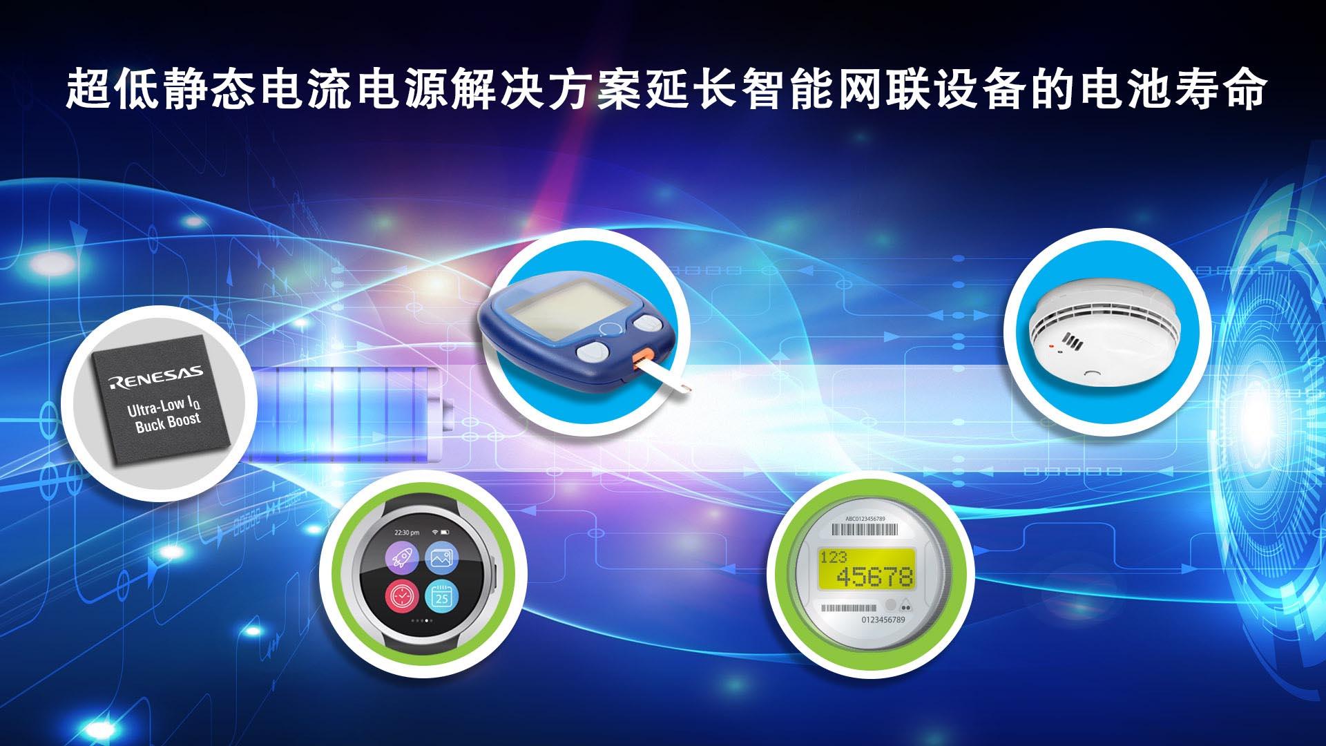 瑞萨电子推出具备超低静态电流的升降压DC/DC转换器  适合为传感器、MCU、无线设备和其它