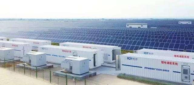 西藏岗巴县40MW/193MWh光伏储能首套储能单元并网运行