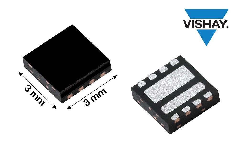 Vishay推出集成式40 V MOSFET半桥功率级,RDS(ON)和FOM达到业界出色水平,提高功率密度和效率