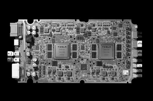 业内人士称特斯拉应对外销售其自动驾驶芯片,与英伟达形成竞争