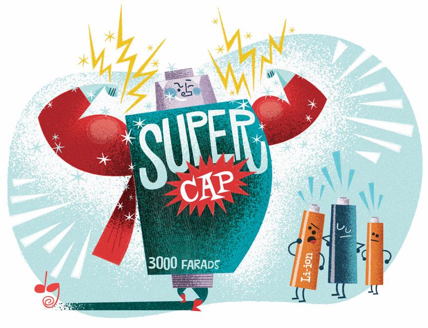使用超级电容储能:多大才足够大? | 亚德诺半导体