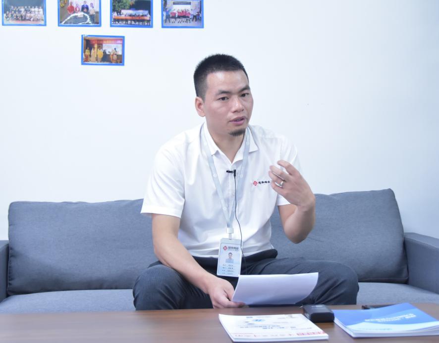冠华伟业科技有限公司销售总监 刘永向