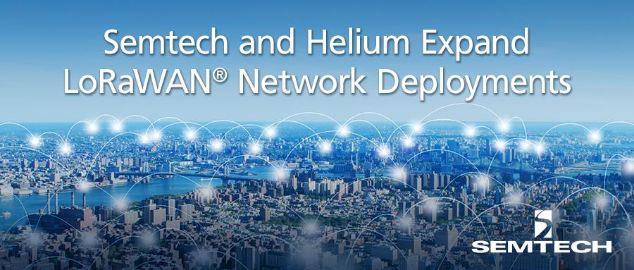 Helium已在1000多个城市部署LoRaWAN®网络