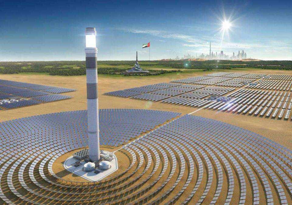 国内首批光热示范项目圆满完成240小时试运行