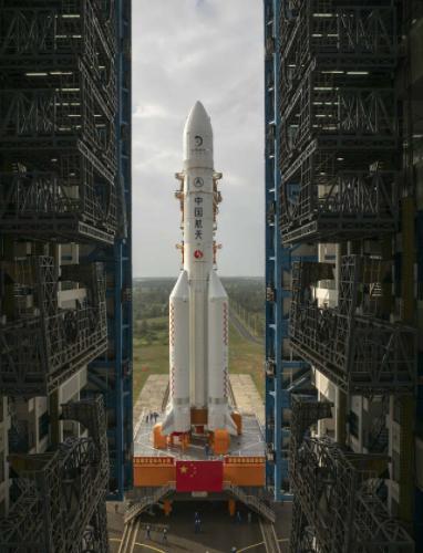 嫦娥五号开启采取任务 连接器为其提供助力