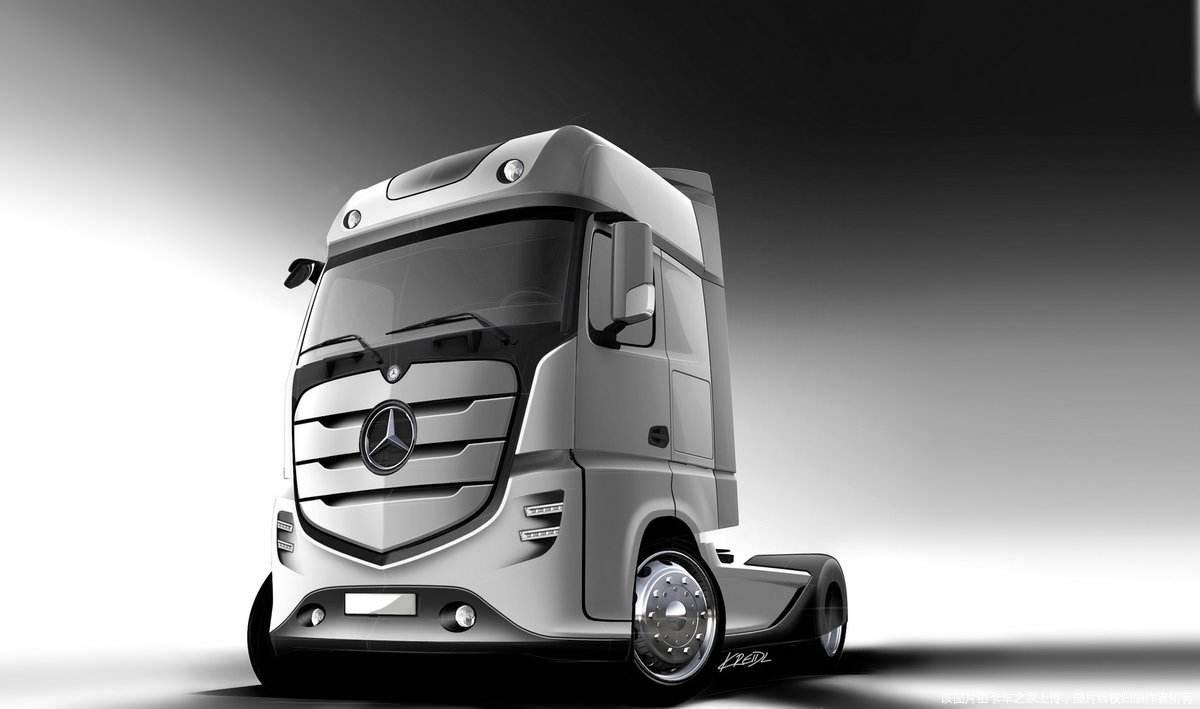奔驰卡车两年后将在华生产,戴姆勒与福田共同推进
