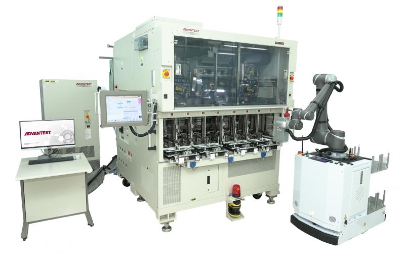 意法半导体与爱德万测试合作开发先进IC自动测试单元系统-测试测量