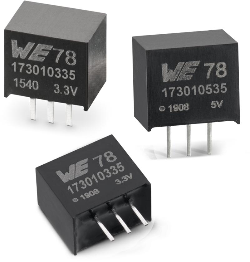 伍尔特电子推出MagI³C FDSM系列的36V版本