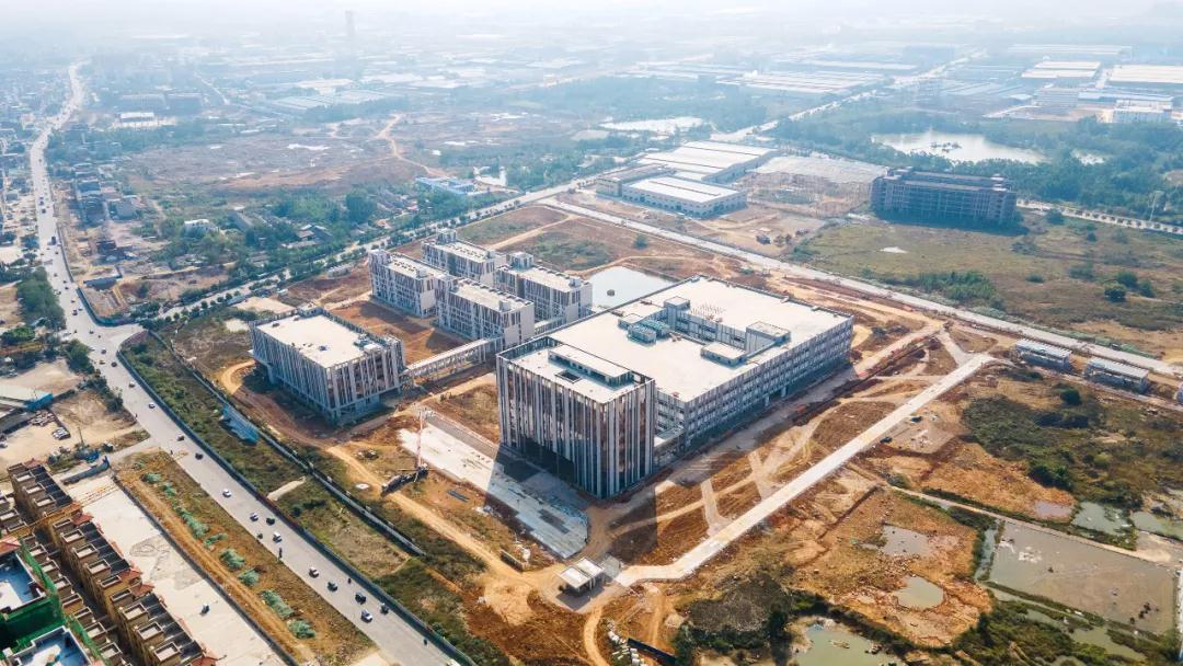 嘉龙海杰新科技园即将在2021年初开幕