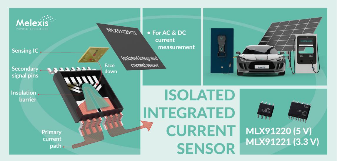 每周新品速递|Melexis新推出隔离集成电流传感器IC