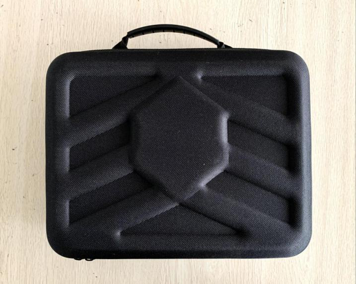 黑色手提收納盒,表面無logo