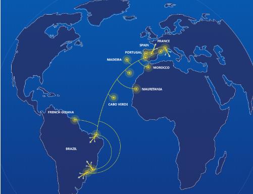 海底光缆系统EllaLink将在巴西部署