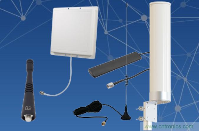 Pasternack推出新型900 MHz橡皮鸭,面板和刀片天线