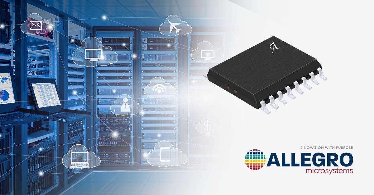 Allegro发布集成功率、电压和电流监控以及增强隔离功能的  新产品ACS37800