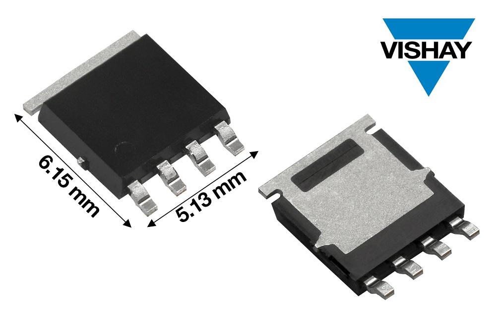 Vishay推出具备优异导通性能且经过AEC-Q101认证的100 V 汽车级P沟道MOSFET