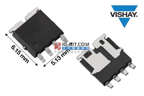 Vishay推出业界首款符合AEC-Q101要求的PowerPAK® SO-8L非对称双芯片封装60 V MOSFET