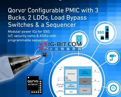 Qorvo推出最新一代多重时间可编程电源管理IC