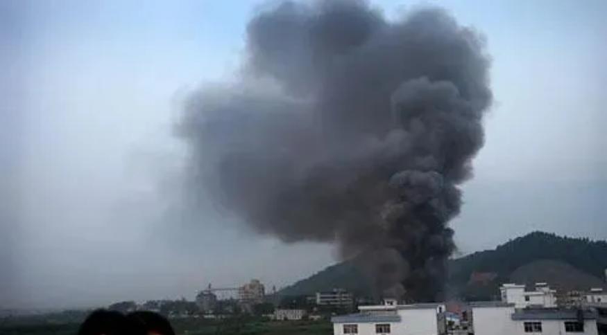 华新科东莞大朗厂区发生火灾