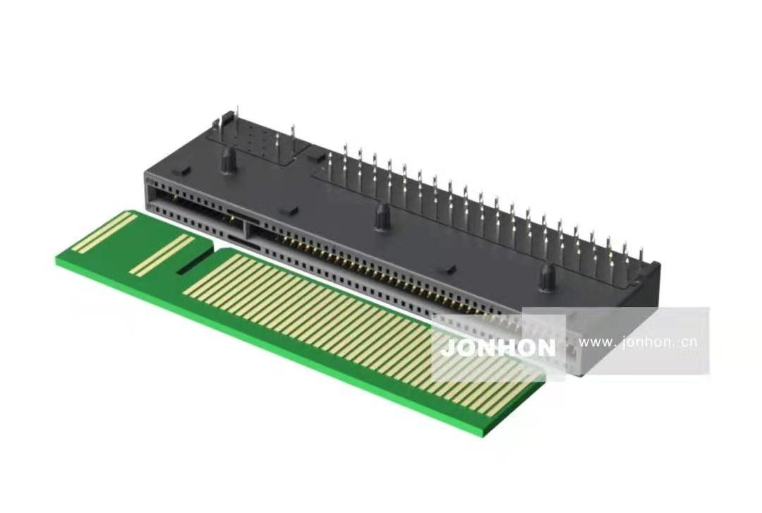 中航光电发布DP4系列金手指连接器新品,助力高密度信号传输