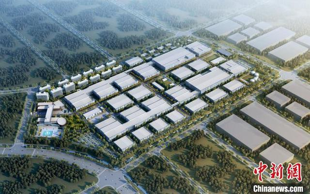 湖南首个第三代半导体项目芯片厂房封顶 预计今年6月份实现投产