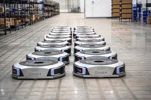物流机器人,加速物流业向智能化转型