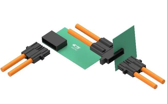 最新呈现 |Dynamic D8000系列电源连接器,最大承载电流100A