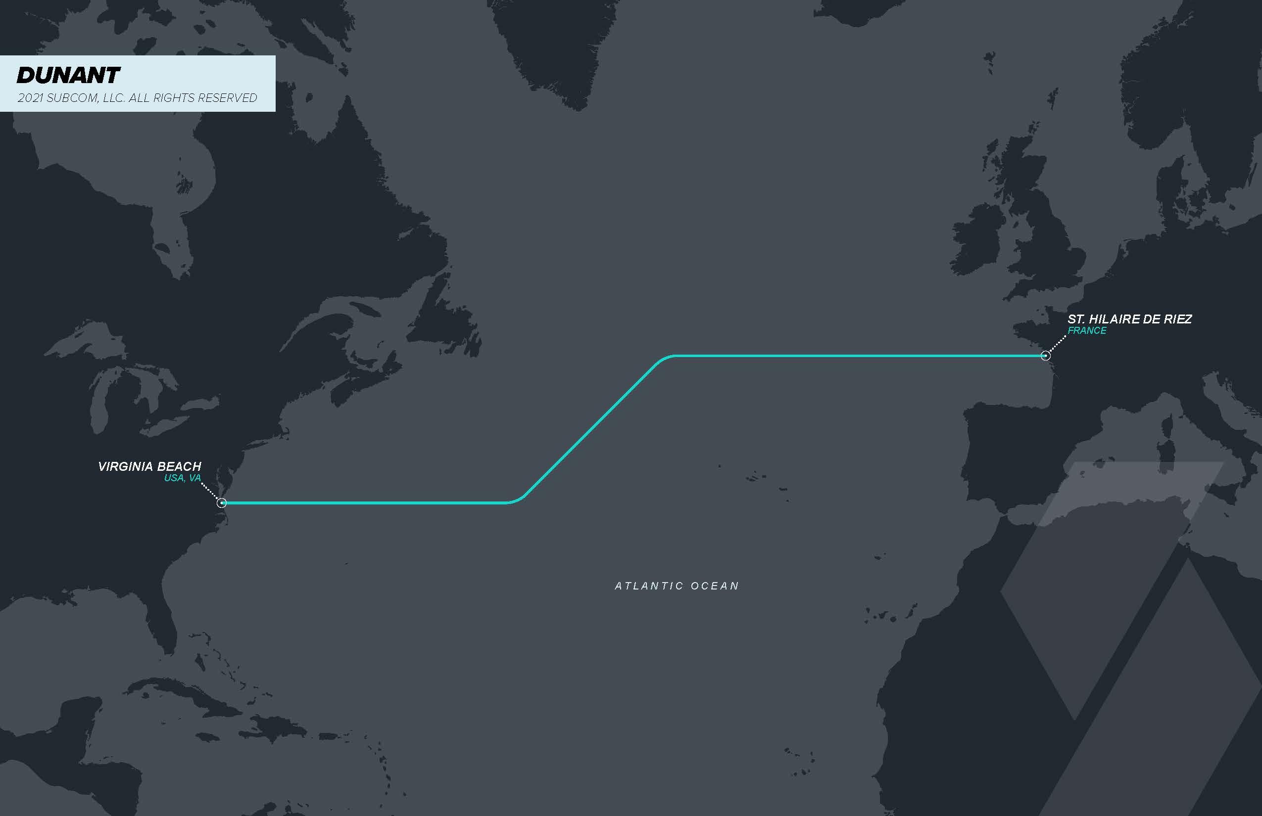 """谷歌海缆""""帝国""""再添一员,Dunant海缆开通就绪"""