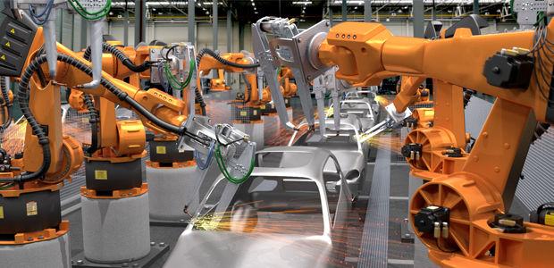 """中国机器人产业链TOP50之非工业六轴机器人""""雄起"""